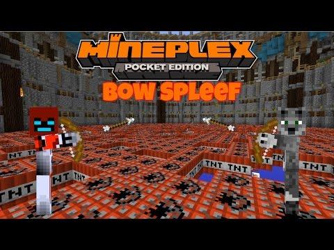 Minigame Mondays Bow Spleef w/ blockotrOn