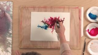 Try These Loose Watercolor Techniques for Backgrounds