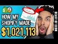 How My Shopify Store Made $1,021,113 In 2 Months Dropshipping - [Step By Step]