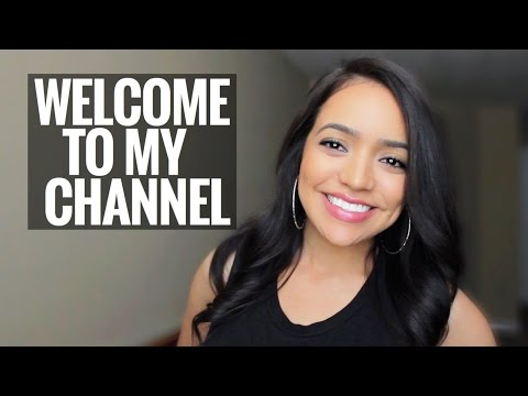 Welcome To My Channel | First Video!