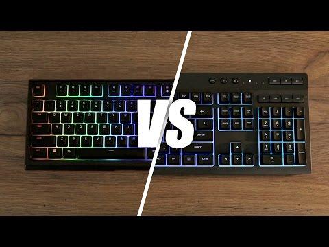 Razer Ornata Chroma vs Corsair K55 RGB Keyboard