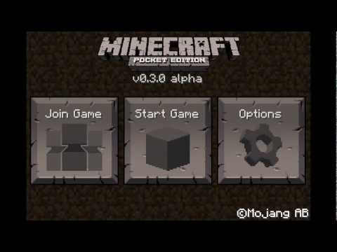 Minecraft - Pocket Edition | Main Menu Flythrough