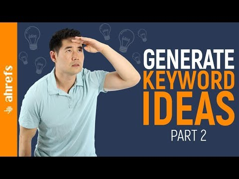 How to Find Thousands of Keyword Ideas for SEO (Part 2/3)