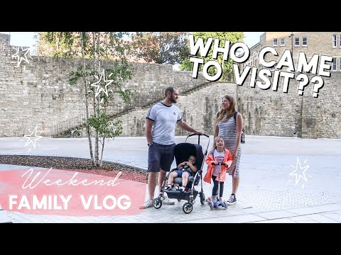 WEEKEND VLOG | WHO CAME TO VISIT? | FAMILY VLOG