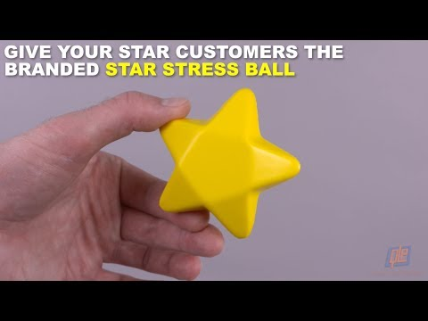 Give Your Star Customers the Branded Star Stress Ball