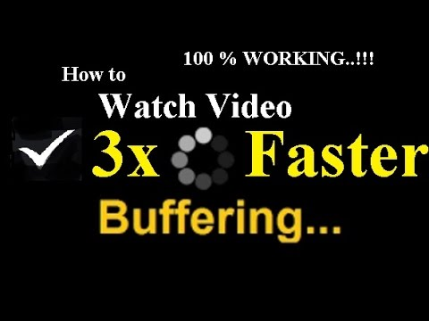 Make Your Streaming Videos 3x Faster - How To make Video Streaming Faster