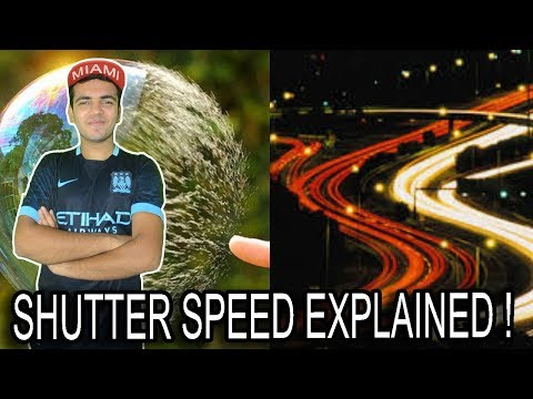 What Is Shutter Speed In Cameras ? Quickly Explained In Hindi