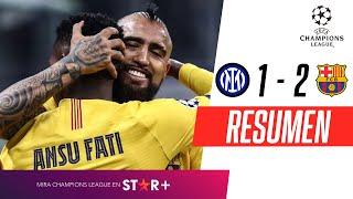 Inter - FC Barcelona [1-2] | GOLES | Grupo F | UEFA Champions League