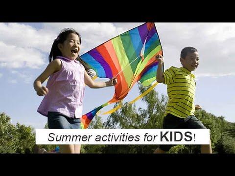 Summer activities for kids!