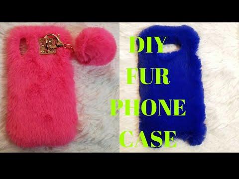 HOW TO: DIY FUR PHONE CASE