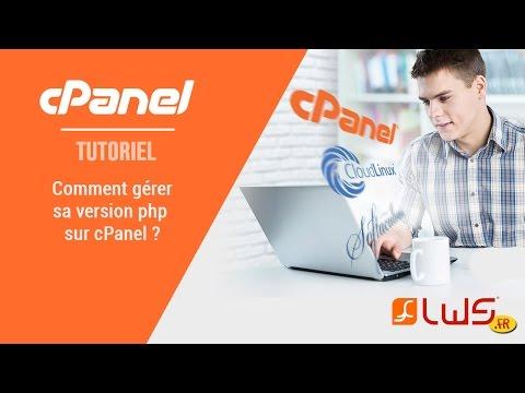 Comment modifier la version PHP sur cPanel