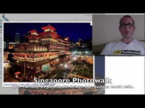 Singapore Photowalk - Tuesday 24 July @ 6pm