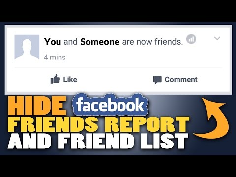 How to Hide BECAME FRIENDS WITH on Facebook | TECHNOLOGY FAQ