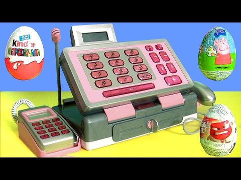 Cash Register Toy JUST LIKE HOME Disney Frozen Toys Play Doh Surprise by Funtoys Disney Toy Review