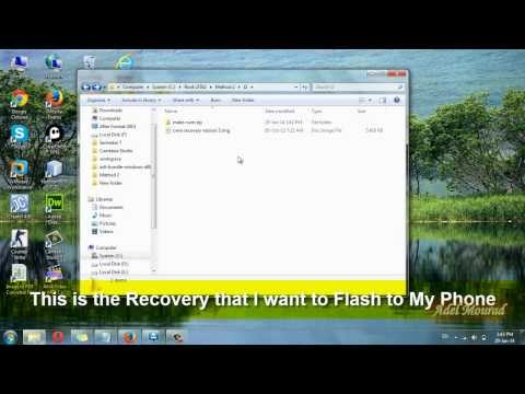 Flash & Install .img Recovery File via CWM