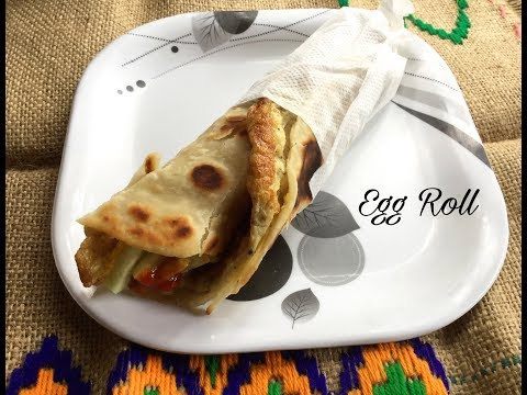 Egg Rolls Recipe ( Kolkata Style) |  A Popular Street Food and Snack - Bengali #313
