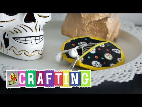 How to Craft a Duct Tape Earphone Case