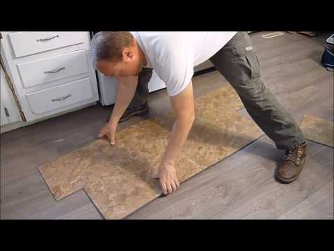 How To Install Vinyl Plank Flooring - Snap Together