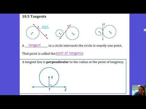 10.5 Tangents - Academic