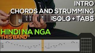 This Band - Hindi Na Nga Guitar Tutorial [INTRO, SOLO