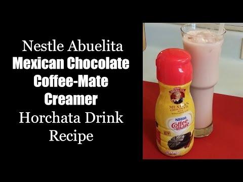 Abuelita Mexican Chocolate Coffee-Mate Creamer Horchata Drink
