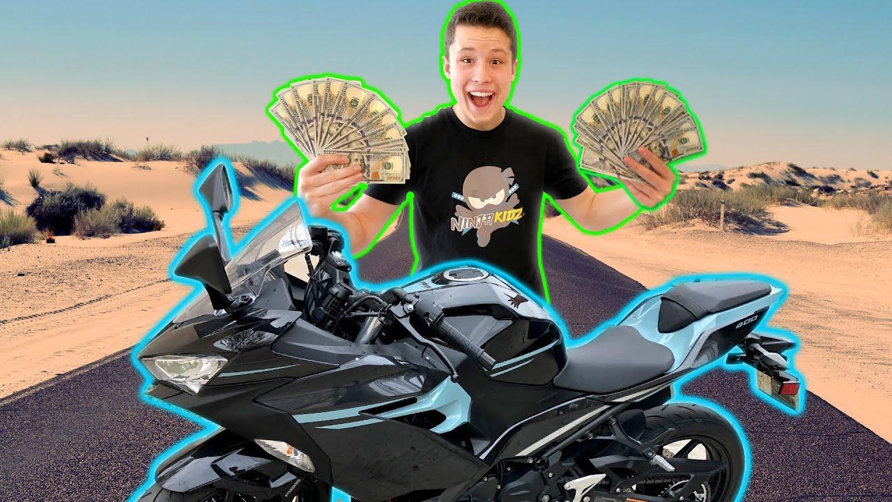 I Bought a Ninja Motorcycle!
