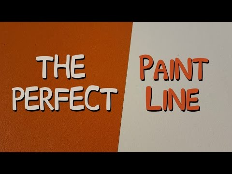 Paint A Perfect Stripe Without Paint Bleed - Paint Clean Lines