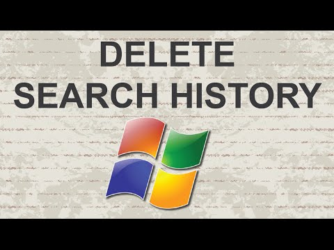 Video : How to easily delete search history from Windows 7