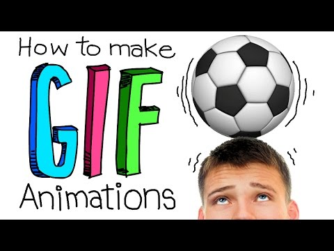 Photoshop Tutorial: How to Create GIF Animations from Video, Graphics & Photos!