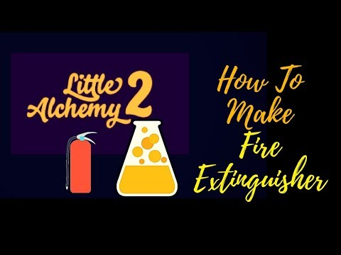 Little Alchemy 2-How To Make Fire Extinguisher Cheats & Hints