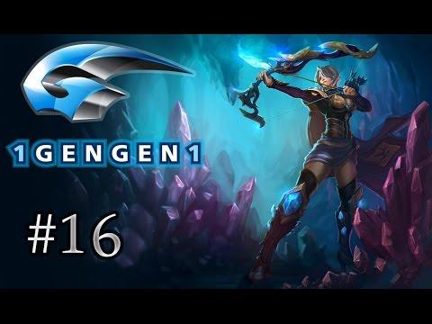 League Of Legends ARABIC Ashe لول رانكد : #16 السّهم الّذي قطع الخريطة