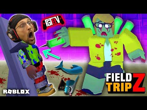 ROBLOX Field Trip Z!  FGTeeV's Horrible School Day