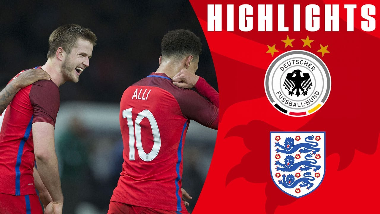 Dier Seals Incredible Comeback! | Germany 2-3 England | Goals & Highlights