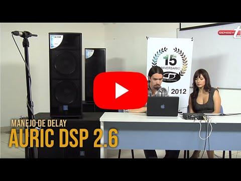 Manejo de Delay con Auric DSP 2.6