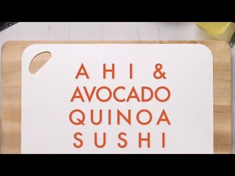 Ahi & Avocado Quinoa Sushi - FIXATE™