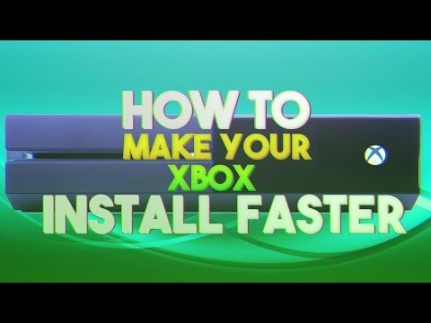 NEW How To Install Xbox One Games Faster 2016/2017 100x Quicker