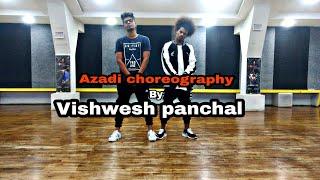 Azadi-Gullyboy || Divine || Vishwesh panchal choreography.