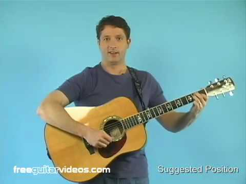 Beginner Guitar Lesson: How to Play While Standing Up