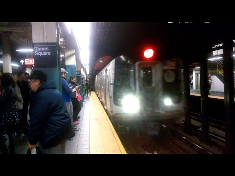 [MTA]: Coney Island - Stillwell Avenue Bound R160B Siemons Arriving @ Times Square 42nd Street