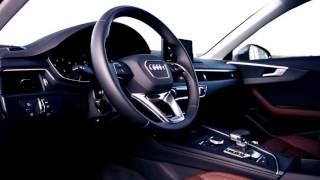 The Audi A4 model car