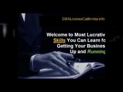 (dba license california) DBA License in California ...