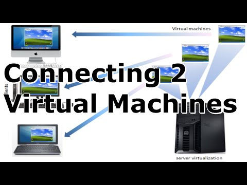 Virtual Machine Clustering - Connecting 2 Virtual Machines and NFS Server Part 1