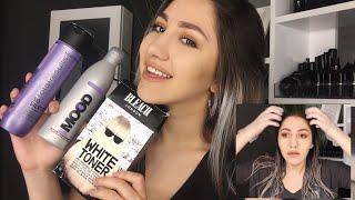 Saçlarımı Nasıl Boyuyorum? | Küllü Sarı & Gri Tonlar & Mor Şampuan