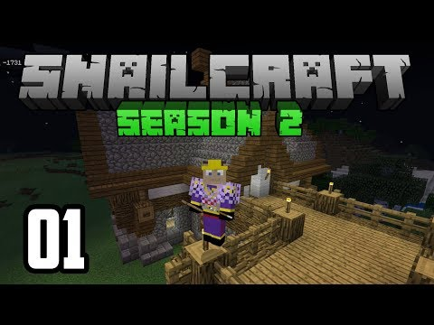 Snailcraft 2 - 01 - LOTS of LOOT! & Speed Building a House