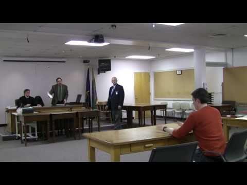 Ryder's Parking Ticket Trial