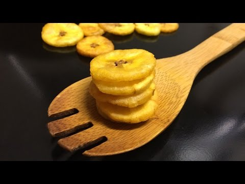 How to make Plantain Chips (Fried Plantain)