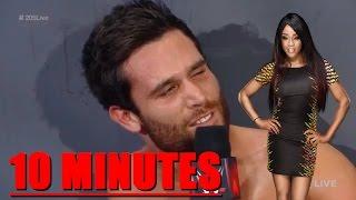 "Noam Dar says ""Alicia Fox"" for 10 minutes"