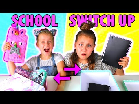 BACK TO SCHOOL SWITCH UP CHALLENGE!!