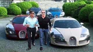 Arnold Schwarzenegger's Cars VS Sylvester Stallone's Cars ★ 2019