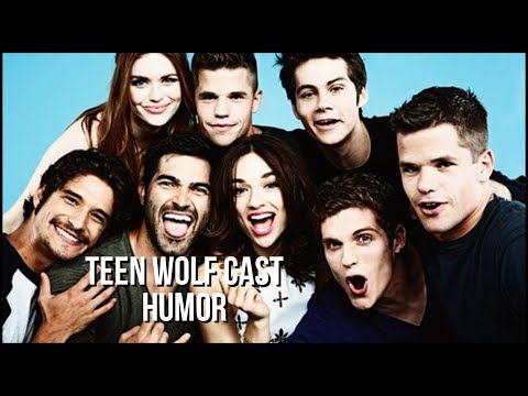 ✥Teen Wolf Cast | Funny Moments [Humor]
